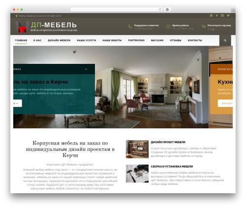 WordPress website template BuildMe - dp-mebel.ru