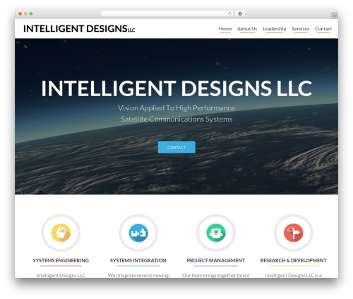 Zerif Lite free WordPress theme - intelligentdesignsllc.com