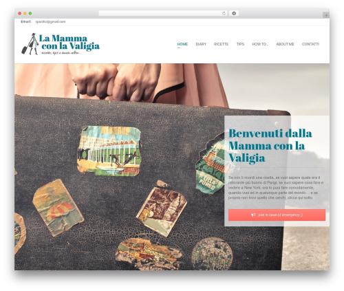 Zoner Lite WordPress template free - lamammaconlavaligia.net