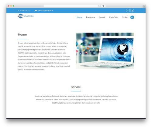 Codepress Corporate WordPress template free - vremsite.ro
