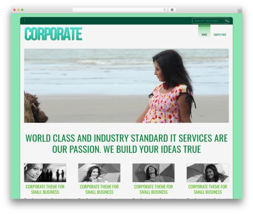 D5 CORPORATE LITE WordPress template free - jna.com.my