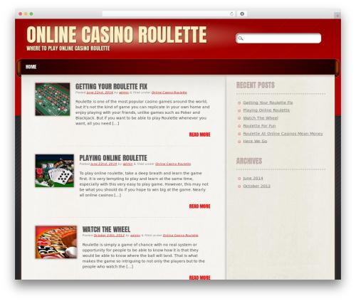 Frantic WordPress page template - online-casinoroulette.net