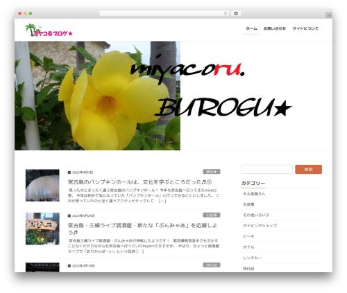 Lightning WordPress theme free download - miyacoru.info