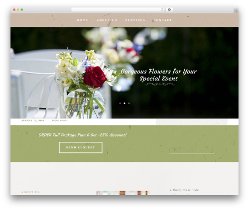 LoveStory top WordPress theme - sunshineplanning.net