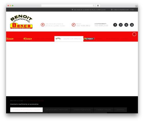 Motors motors WordPress theme - benco.ca