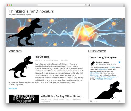 Poseidon WordPress theme download - thinkingisfordinosaurs.com