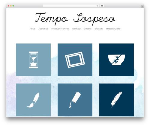 Theme WordPress Frank - temposospeso.net