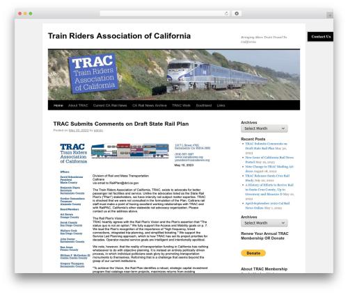 Twenty Ten WordPress theme free download - calrailnews.org