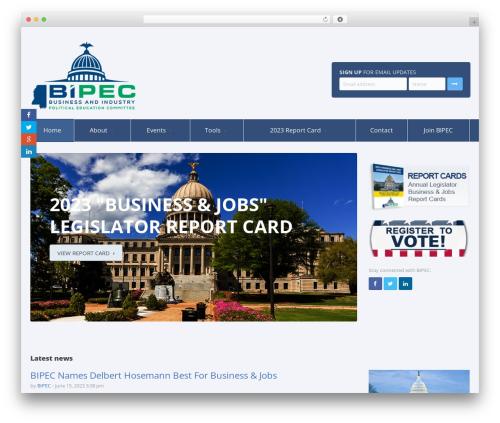 WordPress theme Candidate - bipec.org