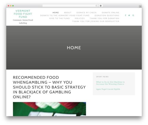 WordPress theme TheMotion Lite - foodfightfundvt.org