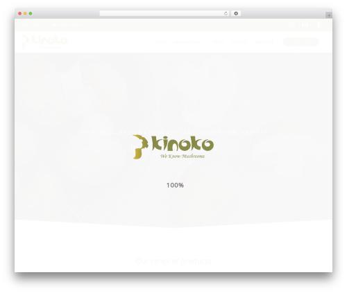 Astra free WP theme - kinokofarms.com