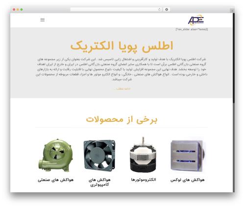 Betheme WordPress theme - atlaspooyaelectric.com