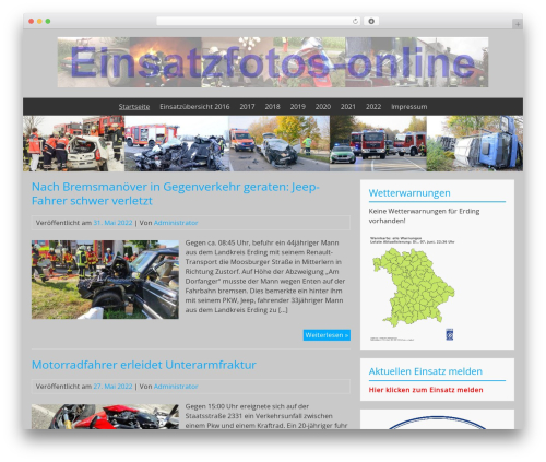 BlueGray theme free download - einsatzfotos-online.de