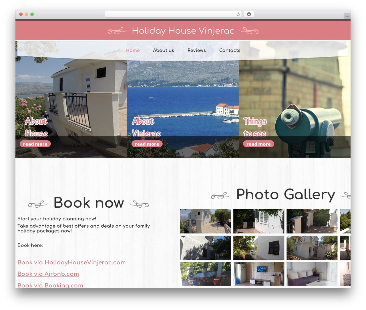 cherry theme WordPress - holidayhousevinjerac.com
