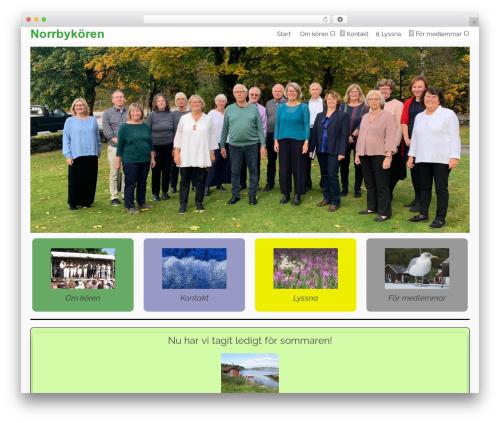 Pinnacle template WordPress free - norrbykoren.se