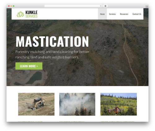 Primer WordPress template free - residentialfiremitigation.com