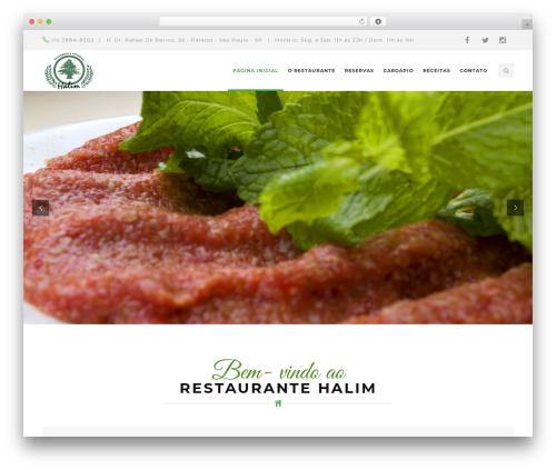 Risotto WordPress restaurant theme - halim.com.br