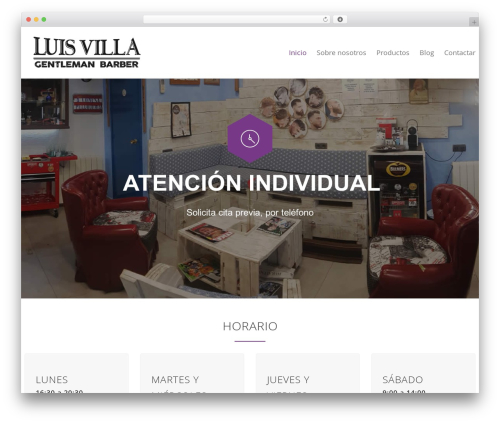 Best WordPress template Carservice - luisvilla.es