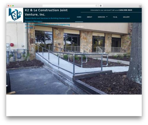 Best WordPress theme General Contractor 6 - k2construction.net