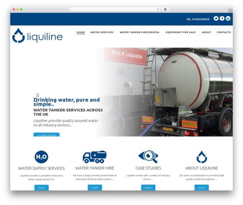 cherry WordPress theme - liquiline.co.uk