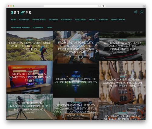 Genie fashion WordPress theme - 3steps.com.au