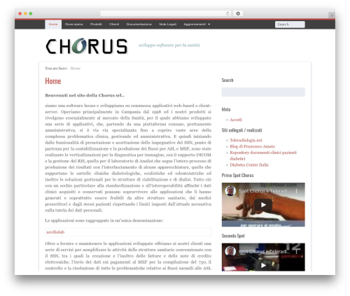 Free WordPress 3D Tag Cloud plugin - chorus.srl
