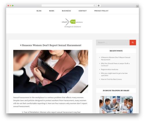 Simplex Munk WordPress theme download - smartpm.org
