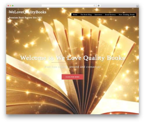 Sydney WP theme - welovequalitybooks.biz