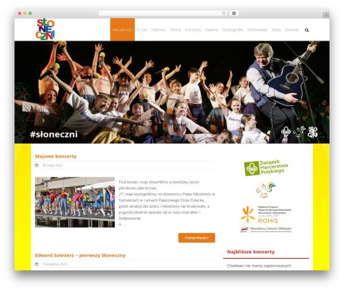Theme WordPress THBusiness Pro - sloneczni.pl