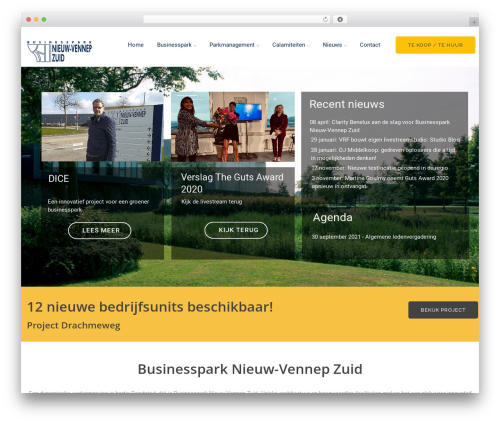 vrukshagra business WordPress theme - nieuwvennepzuid.nl