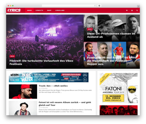 WP template Lineza - lyricsmagazin.ch
