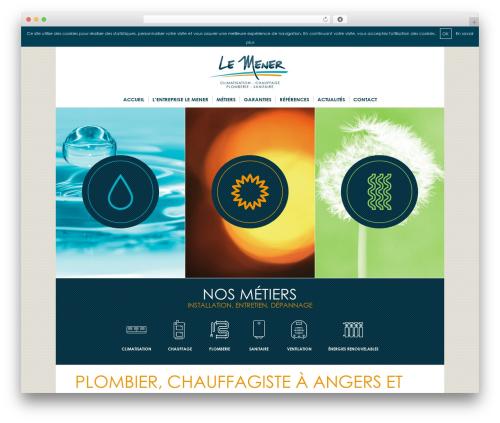 WP template Theme Atmosphère - lemener.fr