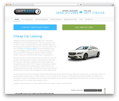 WP theme Plus - cheapcarleasing.co.uk