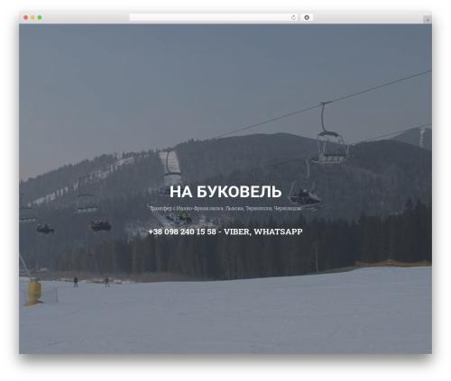 xPerson Lite best free WordPress theme - na-bukovel.info