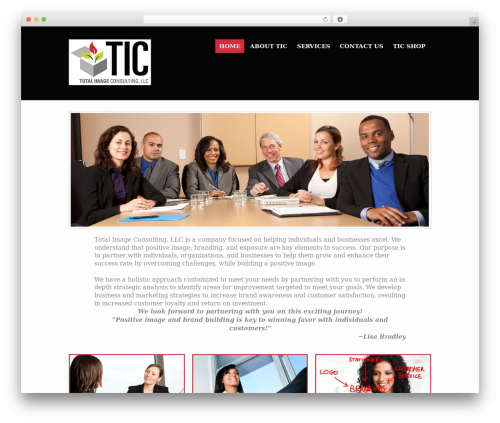 Action business WordPress theme - totalimageconsultingllc.com