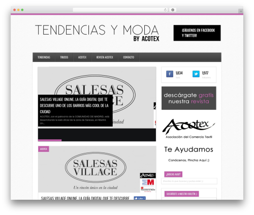 Ares WordPress template free download - tendenciasymoda.es