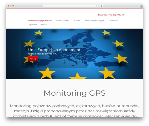 WordPress wp-html-sitemap plugin - trackgps.eu