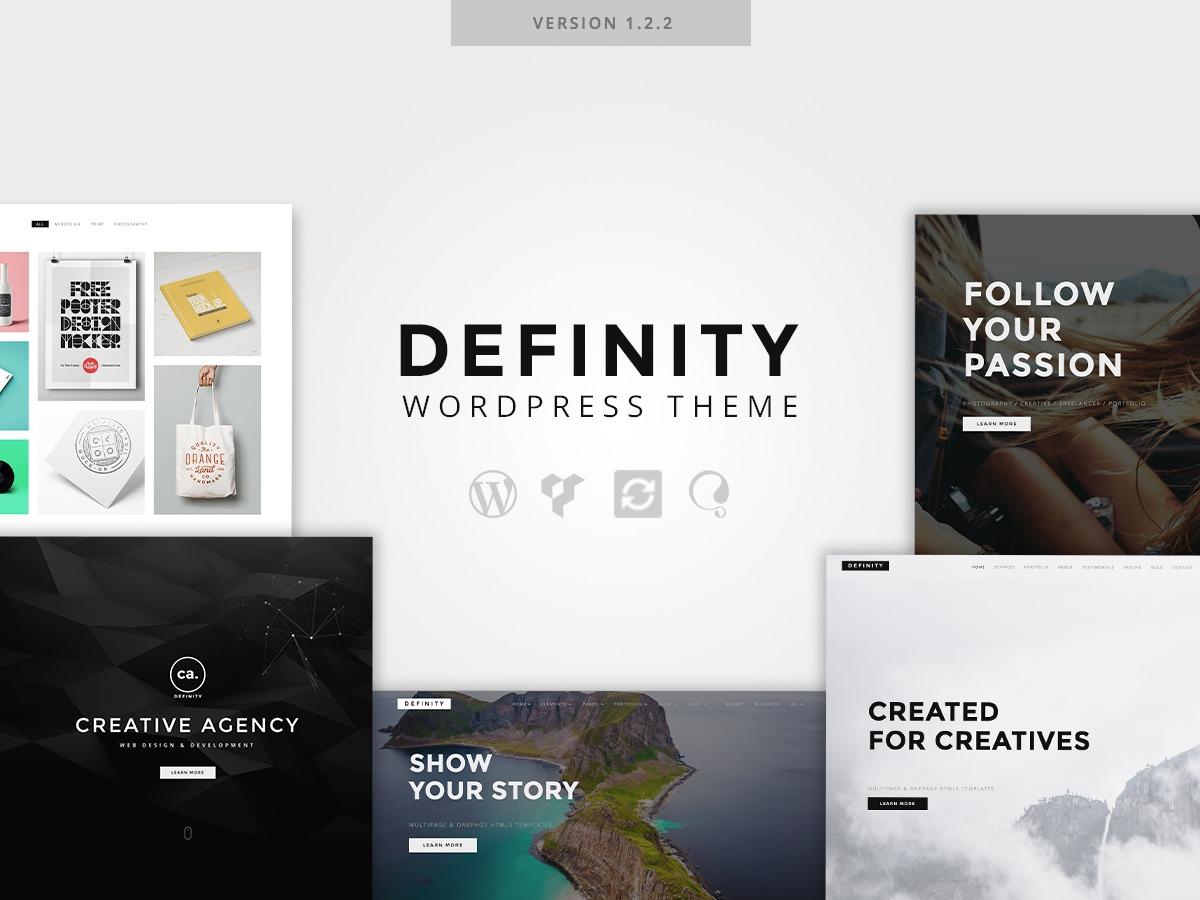 Definity WordPress ecommerce theme