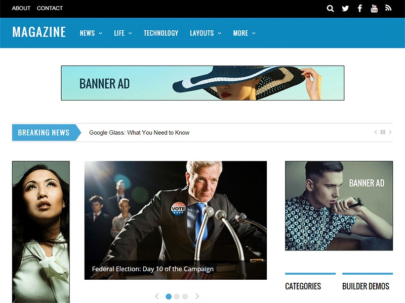 Dragon Drop Church best WordPress template