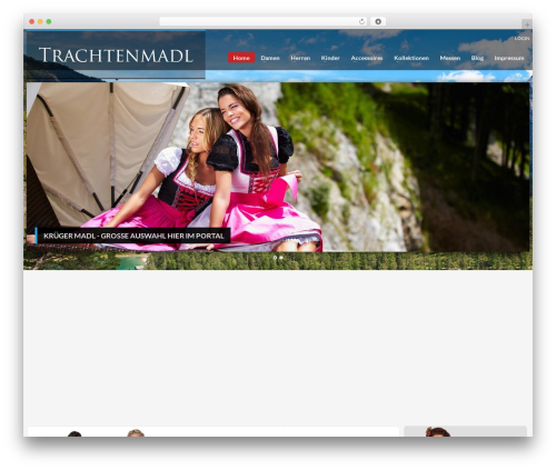 WordPress nivo-slider plugin - trachtenmoden-onlineshop.de