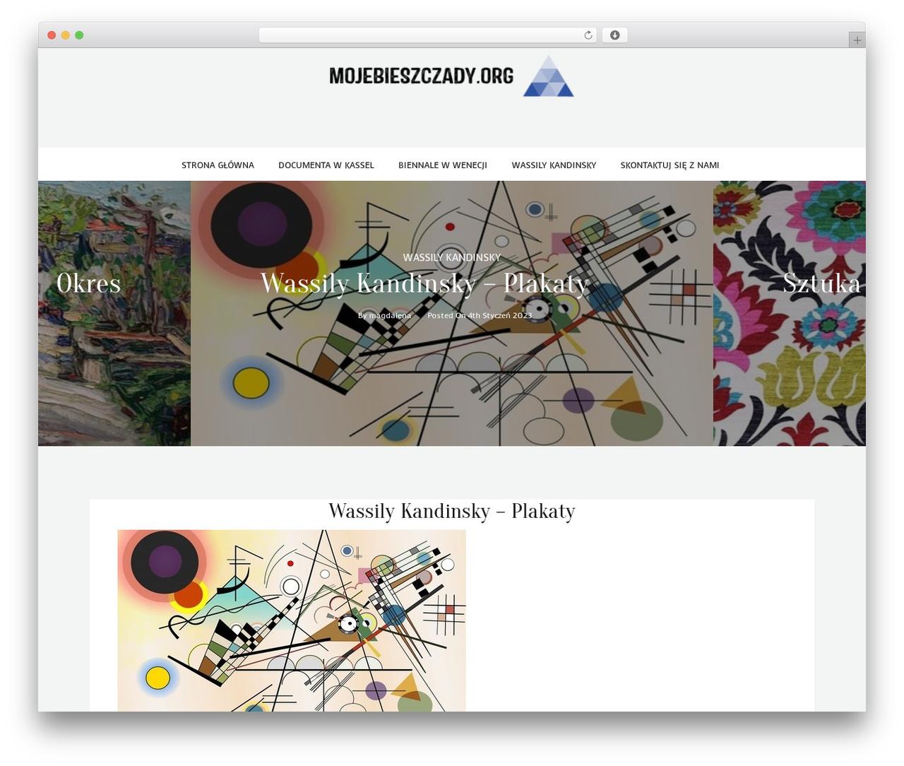 kheera WordPress template - mojebieszczady.org