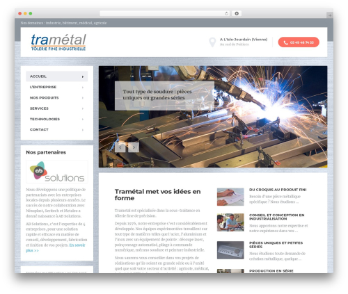 MentalPress WP Theme theme WordPress - trametal.net