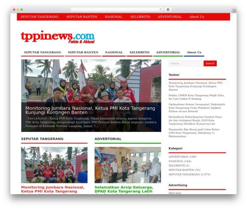 MesoColumn free WP theme - tppinews.com