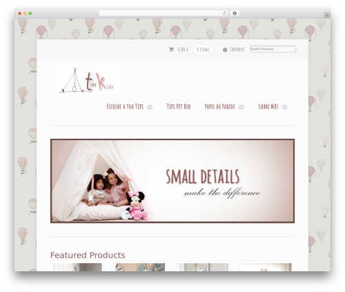 Mystile WordPress theme design - tipikids.com