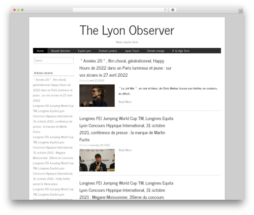 NewMedia WordPress page template - the-lyon-observer.fr