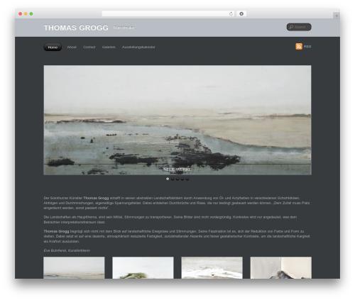 PhotoTouch WordPress template - thomasgrogg.ch
