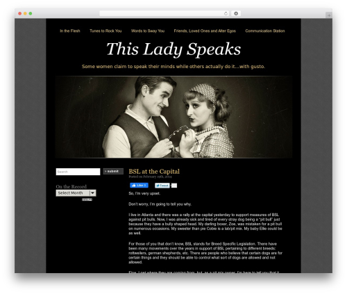 Silent Film Best WordPress Template