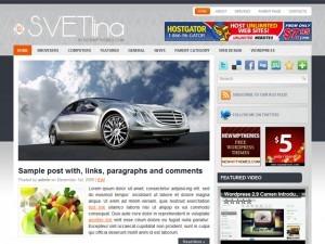 Svetlina theme WordPress