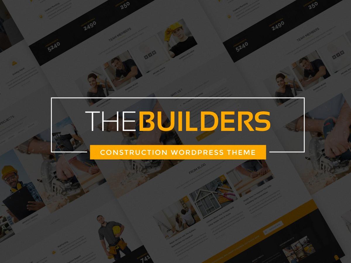 Thebuilders top WordPress theme