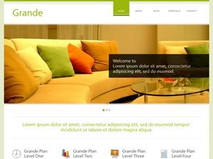 Theme WordPress Grande Green
